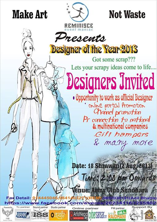 De Designer Of The Year 2013 Events In Nepal