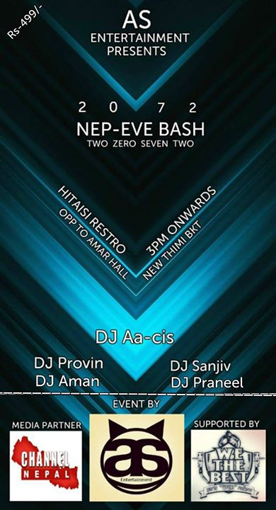 Nep Eve Bash - events in Nepal