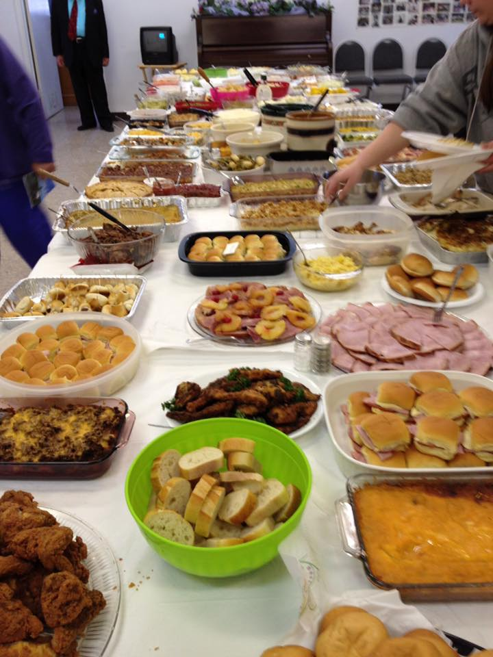 the big potluck dinner events in nepal