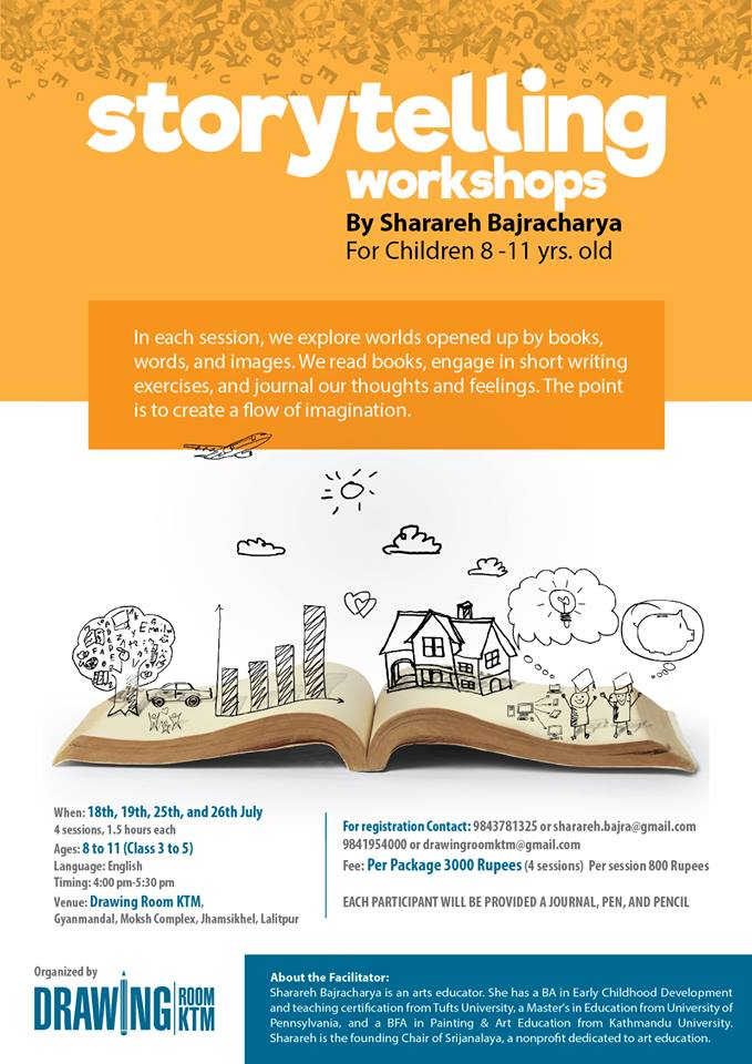 Story Telling Workshop for Children Age 8-11yrs - events in